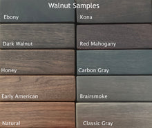 Load image into Gallery viewer, Walnut Stain/Paint Samples