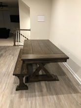 Load image into Gallery viewer, Ellie Trestle Table - Red Oak