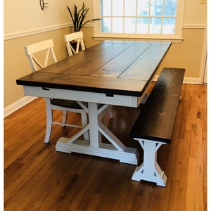 Derickson Trestle Table - Pine