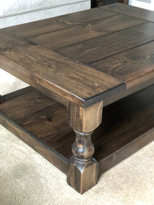 Hunter Coffee Table - Pine