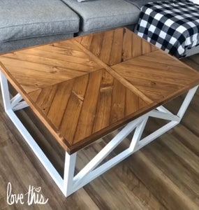 The Margaret Coffee Table - Pine