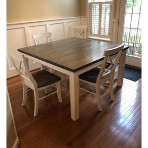 Graham Square Farmhouse Table - Pine