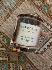Coconut & Lime with Elderflower Soy Candle