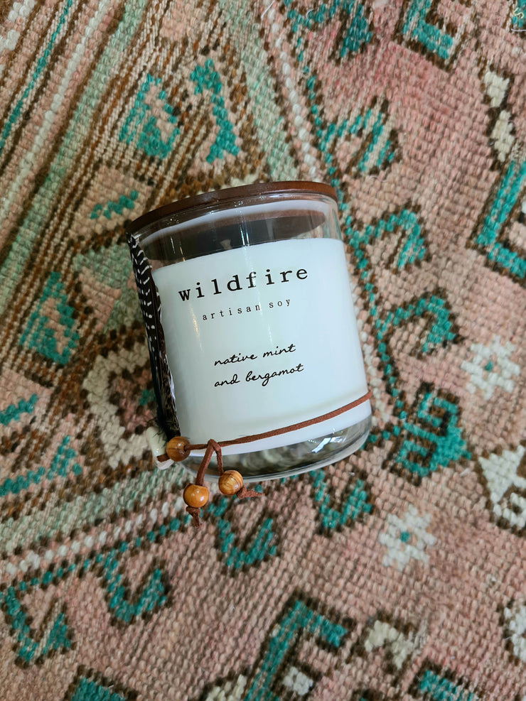 Native Mint & Bergamot Soy Candle