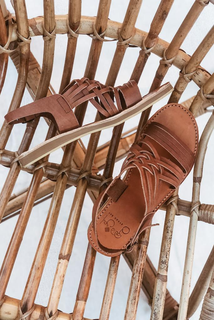 Egipcias Sandals // Moka