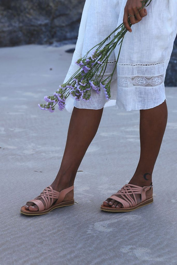Egipcias Sandals // Nude Pinky