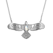 Eagle Moonstone Necklace