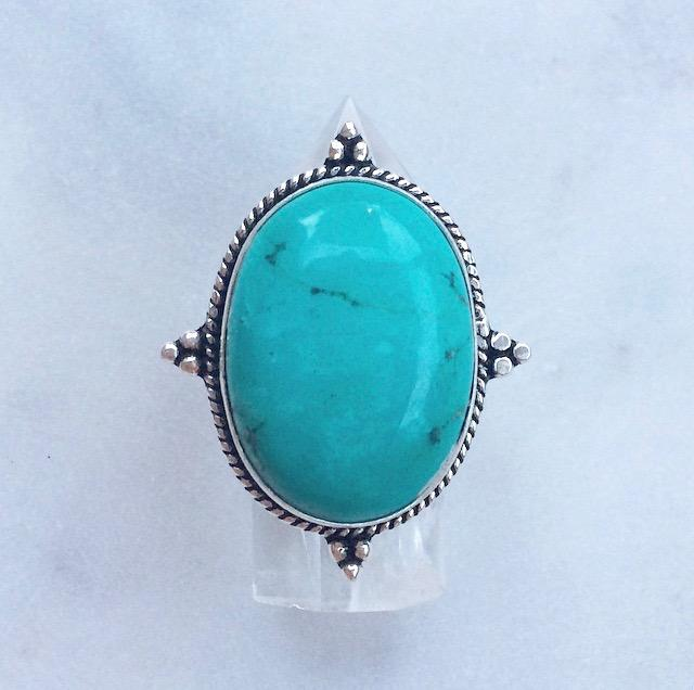 Nomad Ring // Turquoise