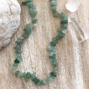Gypset Crystal Necklace // Green Aventurine