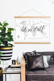 Let's See It All World Map