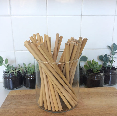 Natural Bamboo Drinking Straws ~ 51raw