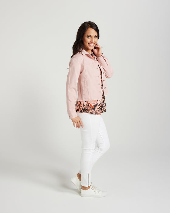 Zafina Faith Denim Jacket