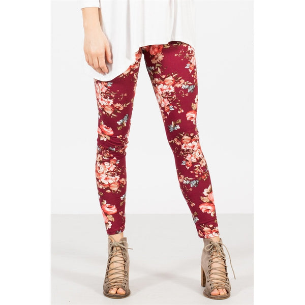Popular Floral Leggings