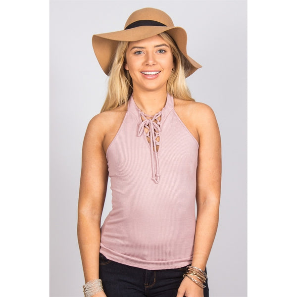 Lace Up Halter