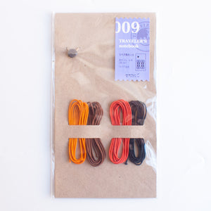 Traveler's Notebook Repair Kit - 4 Bands 009