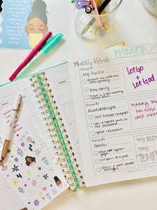 Monthly Refresh | Reseting The Goals That Are Important To You