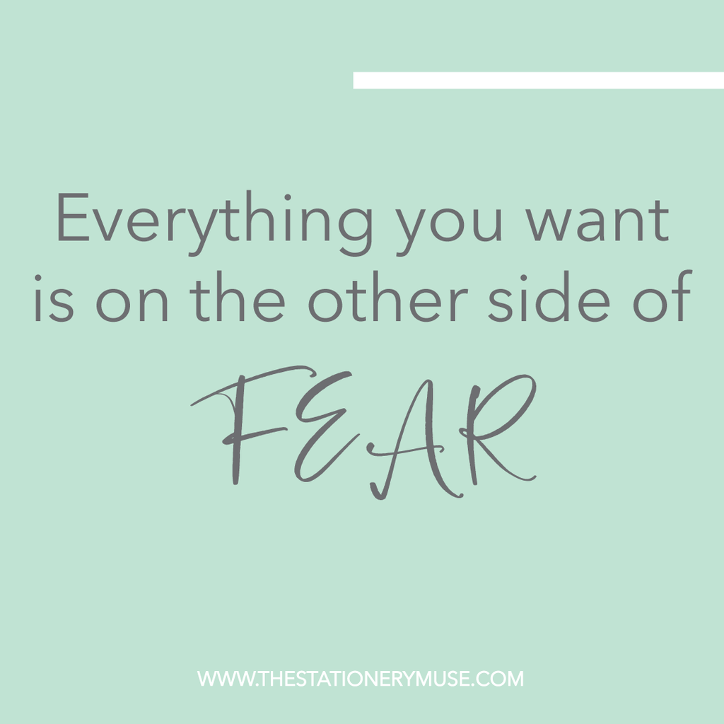 The Notebook To Get Your Goal In Line and Overcome Fear | Live Love Inspire Notebook