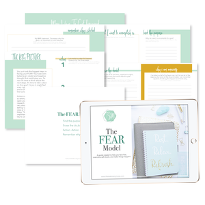 How to Overcome Fear Today | The Stationery Muse