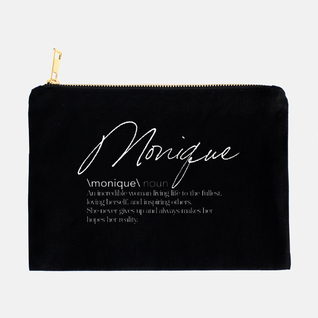 Name Definition Pencil and Accessory Case (more colors available)