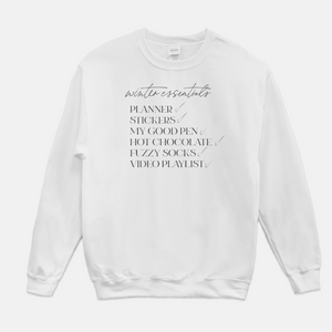 Winter Essentials Crew Neck Sweatshirt