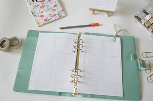 TO DO DAILY PLANNER INSERTS - The Stationery Muse