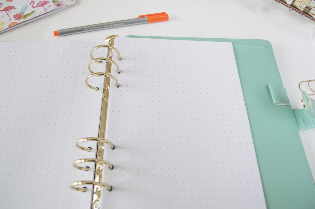 BULLET PAPER PLANNER INSERTS