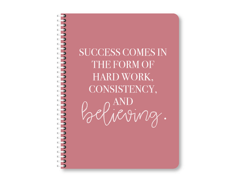 """Success Is"" Mini Lined Notebook"
