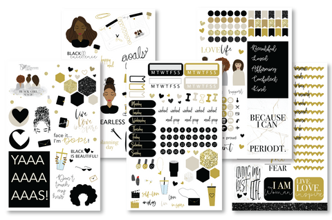 Black Girl Magic Sticker Book