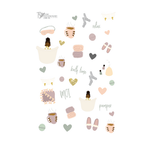 Calm AF Sticker Sheet