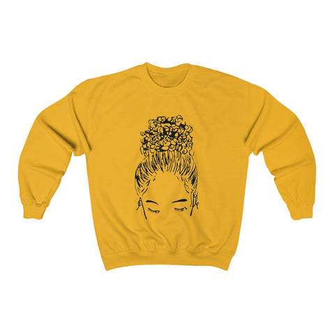 Bun Girl Sweatshirt