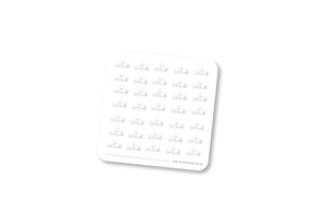 Business Logo Customization Stickers: Planner Size
