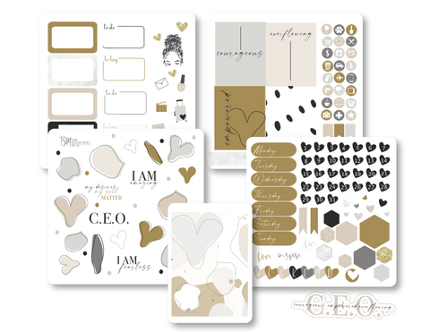 CEO Mindset Sticker Kit