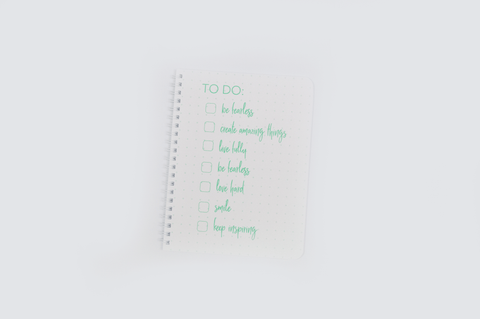 """To Do List"" Mini Lined Notebook"