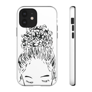 Bun Girl Phone Case | Limited Edition Holiday