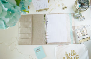 GRID PAPER A5 PLANNER INSERTS - The Stationery Muse