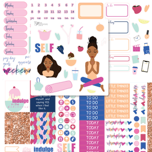 Self Indulge Sticker Kit