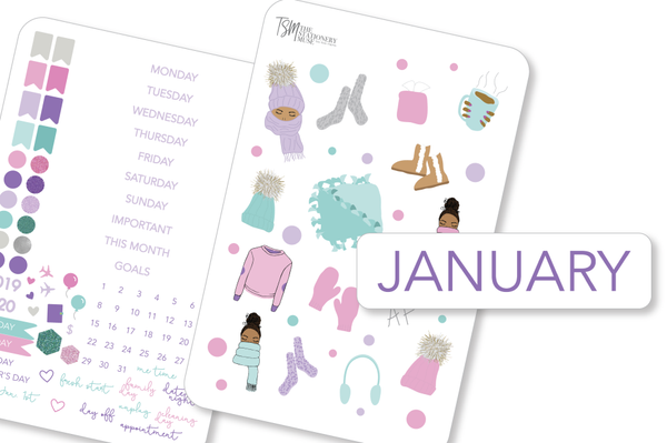 January Mini Monthly Kit - Cold AF