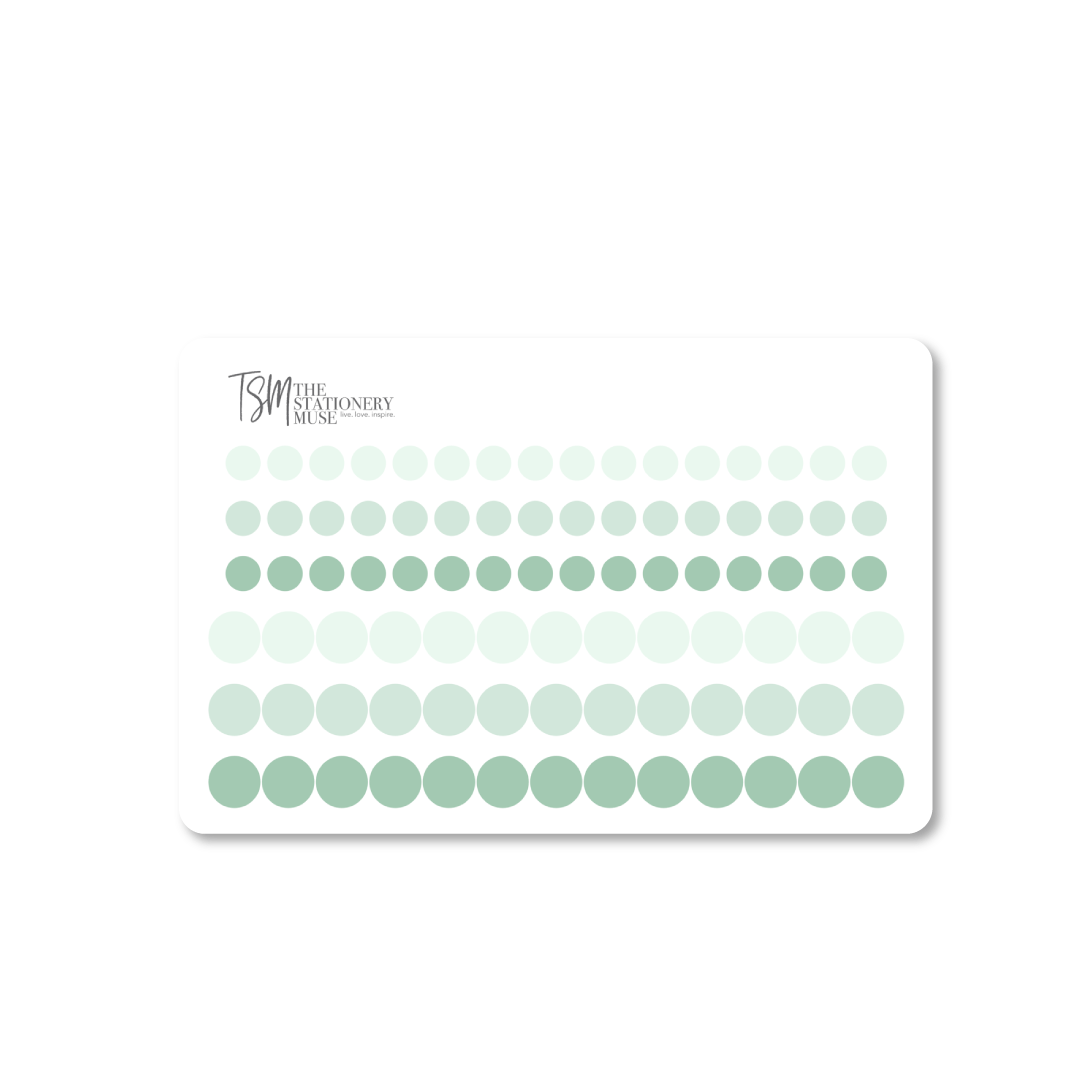 Mini Dot Planning Stickers: Classic Colors