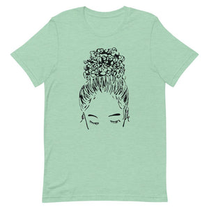 Bun Girl Crew Shirt