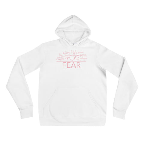 Pink Me Over Fear Hoodie | Limited Edition Breast Cancer Collection