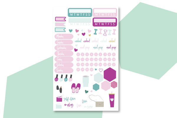 Pampered Planner Sticker Book