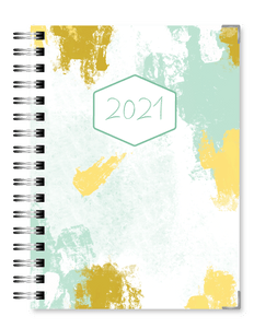 Brush Strokes | 2021 Standard Live Love Inspire Business Planner