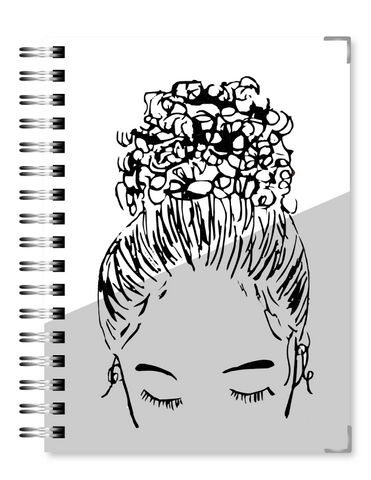 Gray Bun Girl | 2021 Standard Live Love Inspire Business Planner