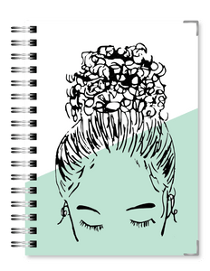 Mint Bun Girl | 2021 Standard Live Love Inspire Business Planner