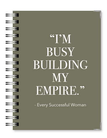 Olive Gray Empire | 2021 Standard Live Love Inspire Business Planner