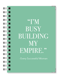 Teal Empire | 2021 Standard Live Love Inspire Business Planner