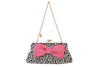 The Kiss Clutch with Interchangeable Bows & Flowers