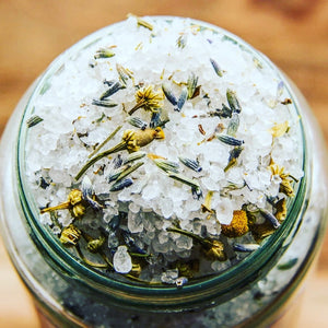 UNWIND (French Lavender) Artisan Bath Salts