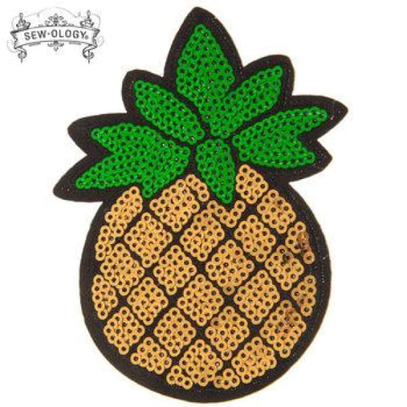 Pineapple Iron-On Applique - Crafters Supply