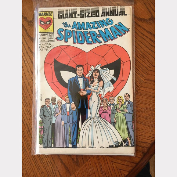 Spider-Man 21 -Peter Parker Marvel Comics - Vintage Collectibles
